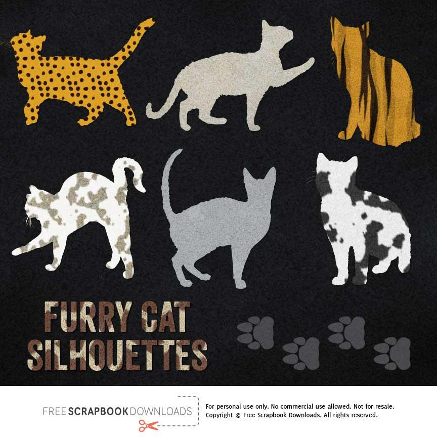 cat scrapbook embellishments