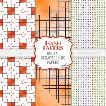 Hash Scrapbooking Papers
